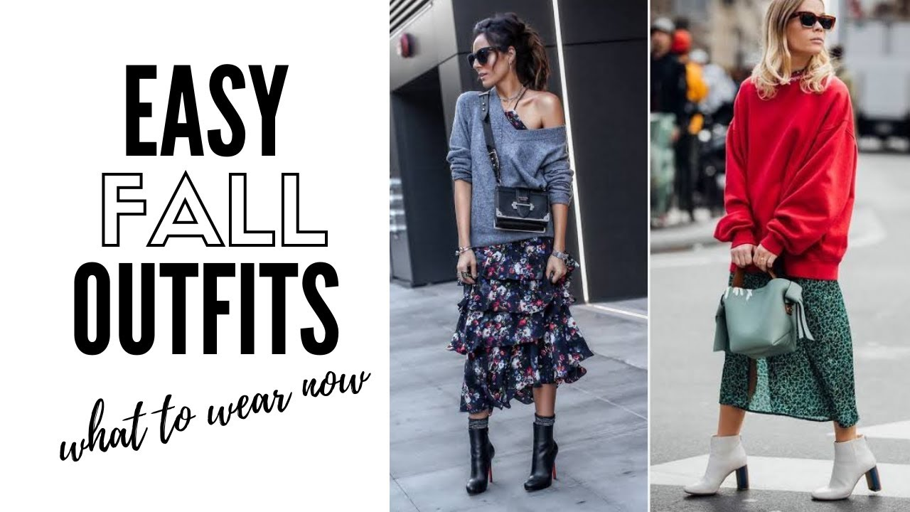 [VIDEO] – 10 Things You Need To Look On-Trend NOW! Fall 2019 Fashion