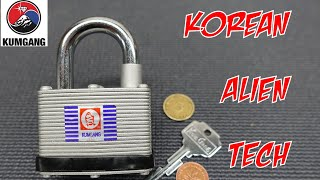 (1331) Kumgang Padlock Craziness Cracked Open