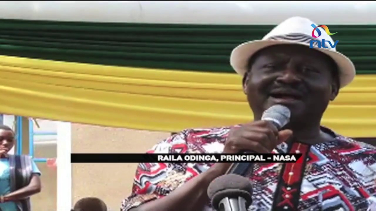 Raila Odinga accuses Jubilee government of ethnic cleansing