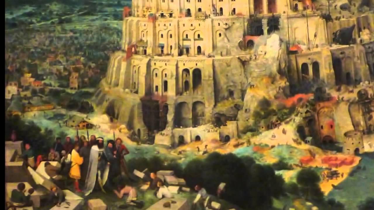 """the triumph of god in the story the tower of babel The tower of babel: chapter 11:1-9 literary context the account of the tower of babel is sandwiched between two genealogies: chapter 10 is the account of noah's sons – shem, ham and japheth – categorised according to nation (10:32 – """"these are the clans that descended from noah's sons, arranged by nation according to their lines of descent."""