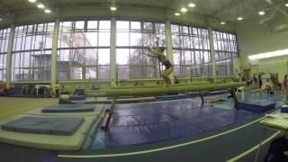 спортивная гимнастика 1 юношеский разряд Тишкина Анастасия