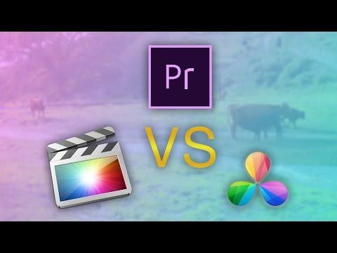 FCP X vs Premiere Pro vs Davinci Resolve: Which is Fastest?
