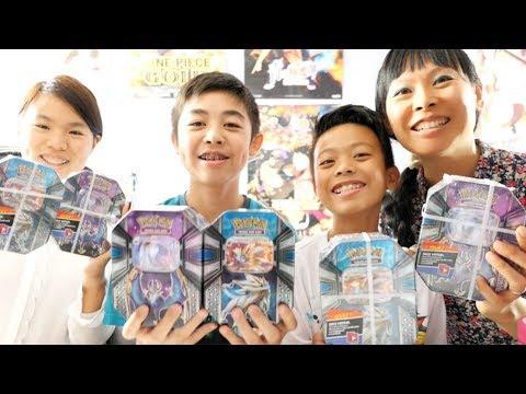 Ouverture 6 Coffrets Cartes Pokemon Unboxing En Famille Pokebox