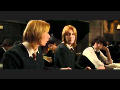 Funny Scene with Harry, Ron and Snape