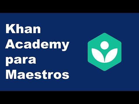 Khan Academy Para Profesores