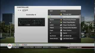Fifa 12 - How to change your controls (PC)