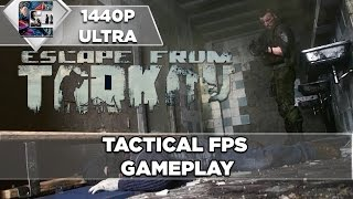 Escape From Tarkov - Alpha Gameplay Tactical FPS (REALISTIC)