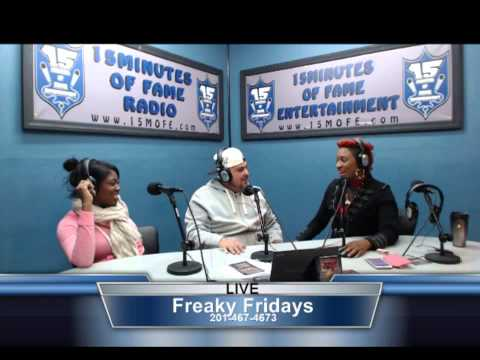 Url's Norbe (@streetstarnorbe) Interview On 15 Minutes Of Fame Radio #FreakyFridays
