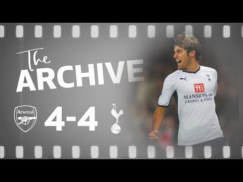 THE ARCHIVE | Arsenal 4-4 Spurs | Spurs' Stunning Fightback At Emirates Stadium