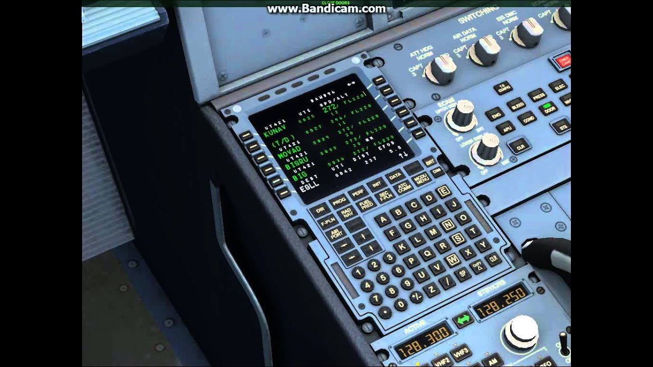 Fsx tutorial] aerosoft airbus x extended full startup and mcdu.