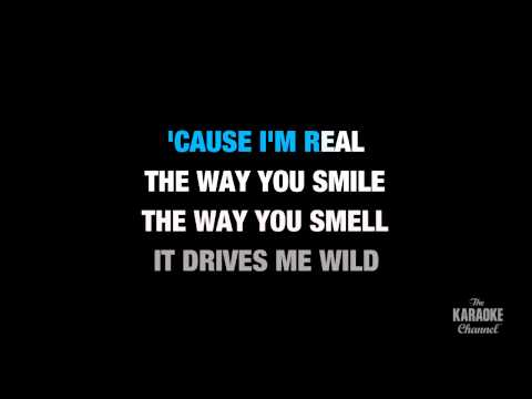 "I'm Real (Radio Version) in the Style of ""Jennifer Lopez feat. Ja Rule"" with lyrics (no lead vocal)"