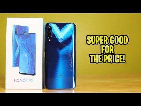Honor 9X Review - SUPER GOOD FOR THE PRICE!