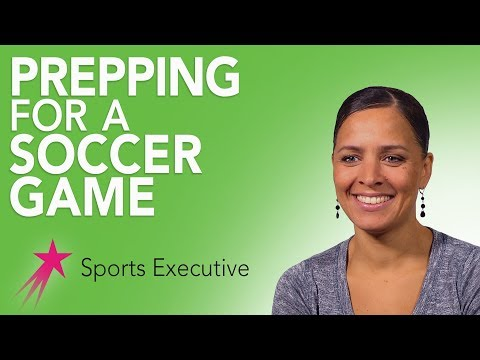 Sports Executive: My Game Day Routine - Rebekah Salwasser Career Girls Role Model