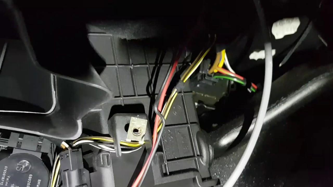 Electric Radiator Fan Wiring Diagram Bmw E39 Heater Blower Resistor Location Youtube