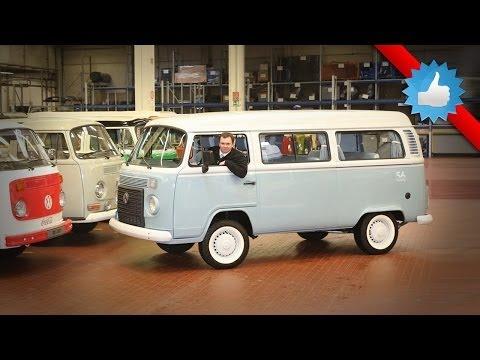 Last Volkswagen Type 2 Kombi Microbus arrives at Hanover museum