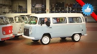 Last Volkswagen Type 2 Kombi Microbus arrives at Hanover museum
