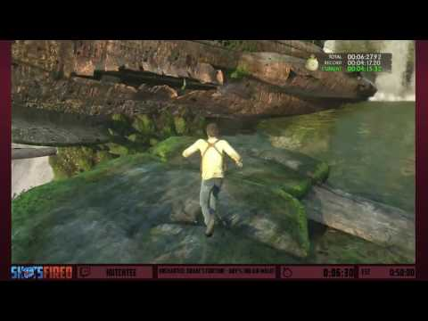 Uncharted: Drake's Fortune (Any%) in 45:18 by Hutchtee - Shots FIred: Devastation
