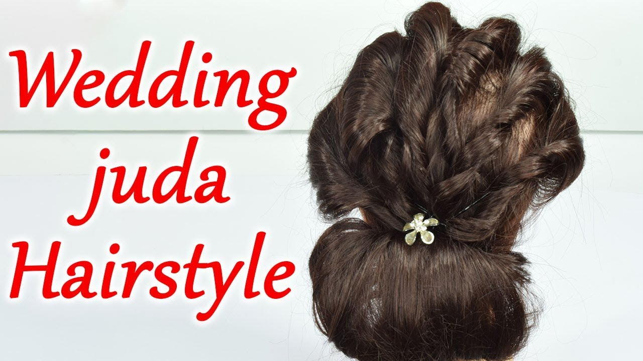 Hairstyle Tutorial Wedding Juda Hairstyle