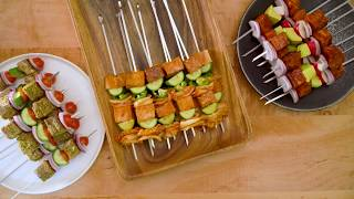 No-Hassle Kebabs for a Crowd