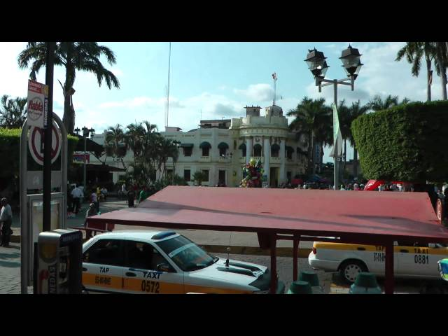 Tapachula Downtown Mexico (Chiapas) 1080 50p Full HD Videos De Viajes