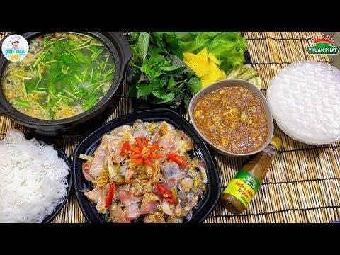 Cách nấu TẢ PÍ LÙ cá hú siêu ngon   CÁ NHÚNG MẺ   Bếp Của Vợ