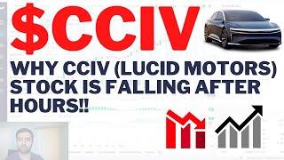 $<b>CCIV</b> WHY <b>CCIV</b> (LUCID MOTORS) IS FALLING AFTER HOURS ...