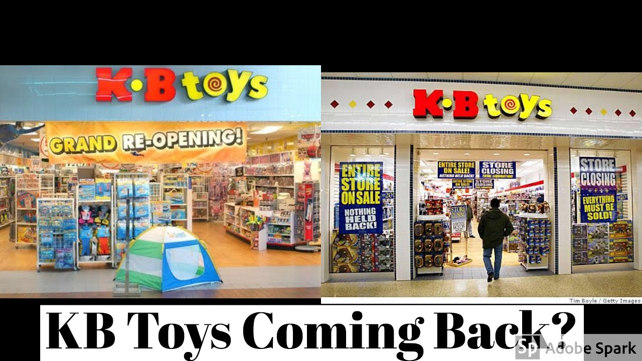 Toys From Kb Toys : Kb toys returning youtube