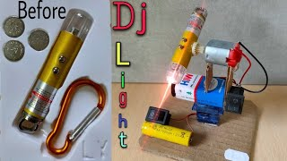 dj light | How to make DJ light | How to make DJ Light at home | Simple home made dj light easy