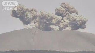 宮崎県と鹿児島県にまたがる霧島山の新燃岳について、火山噴火予知連絡...
