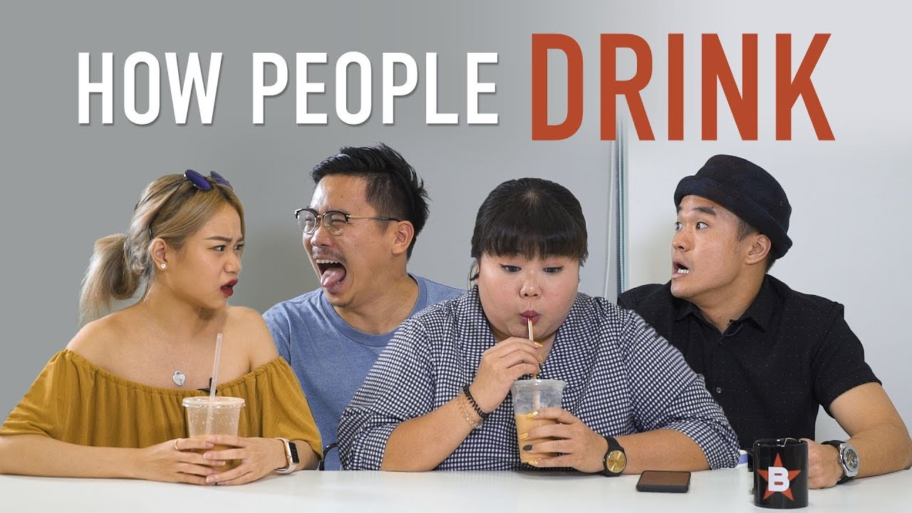 Video How People Drink
