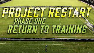 PREMIER LEAGUE TRAINING | Palace are back for Project Restart