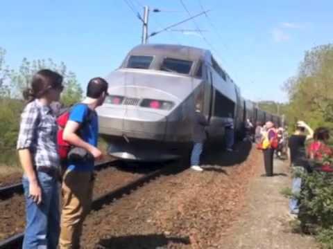 TGV bloqué en Deux-Sèvres