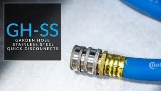 Introducing Stainless Steel Garden Hose Quick Disconnects