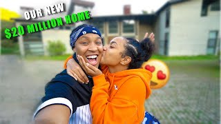 Suprised my CRUSH with a $20million Mansion! | EZEE X NATALIE