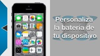 Tweak IOS 7: Personaliza el icono de la batería de tu dispositivo