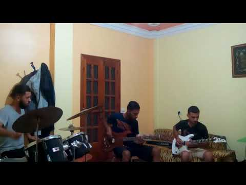 Joe Satriani - Made of Tears 2017(cover by rochdi , zino and hani live!)