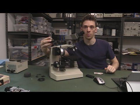 EEVblog #992 (Part 2) - How To Clean & Service A Microscope