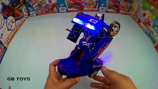TOBOT transformers  Captain America Unboxing toys for kids