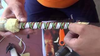 custom fishing rod butt cross wraps 3