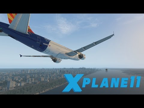 Miracle on the Hudson (A320 Crash, cockpit view) [X-Plane 11]
