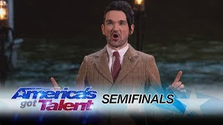 Colin Cloud: Mind Reader Predicts Your Tweets - America's Got Talent 2017 thumbnail