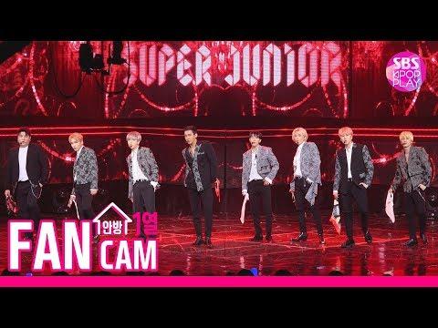 [안방1열 직캠4K] 슈퍼주니어 'I Think I' 풀캠 (SUPER JUNIOR FanCam)│@SBS Inkigayo_2019.10.20