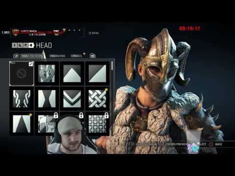 For Honor - ALL CHARACTER ORNAMENTS SHOWCASE! (With reactions)