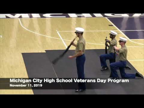Michigan City High School Veterans Day Program  11-11