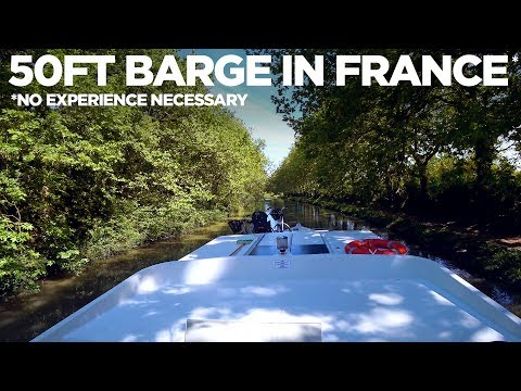 Renting a 50' BARGE in Europe (With No Boating Experience)