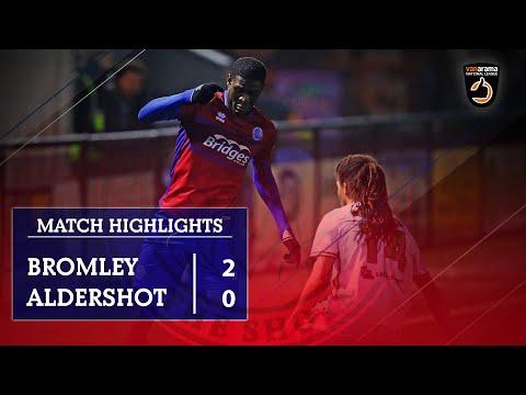 Bromley Aldershot Goals And Highlights