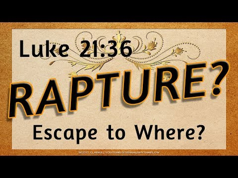Rightly Dividing Luke 21:36   Escape to the Clouds ... or to the Mountains? Mp3