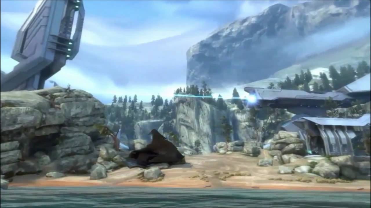 Halo: Reach - Tempest Map (Gameplay / Preview)