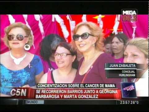 C5N - SOCIEDAD: CONCIENTIZACION SOBRE EL CANCER DE MAMA
