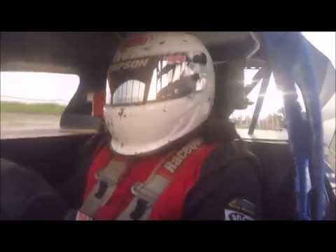 Tim Hamburg In-Car Peoria Speedway 7-23-16 Feature